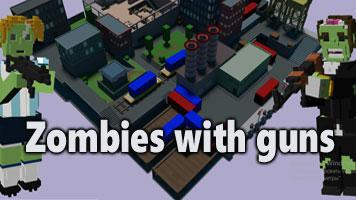 Zombies with guns .io
