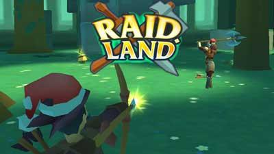 Raid Land - archery online shooting game